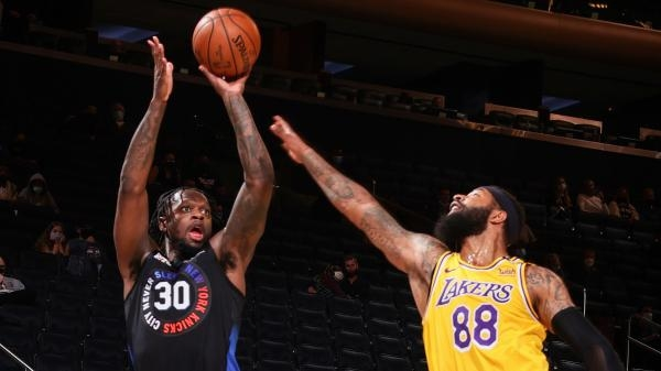 Los Angeles Lakers - New York Knicks