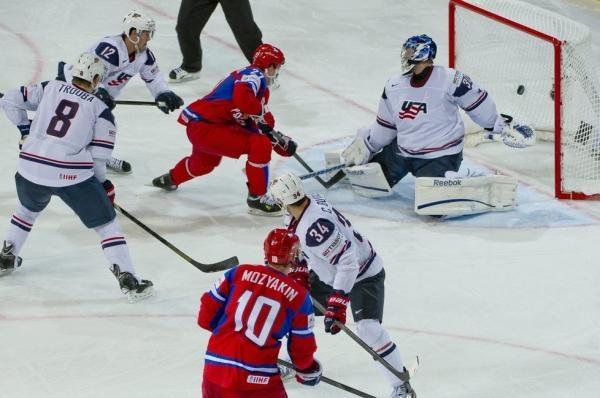 Hokej: USA - Rusko