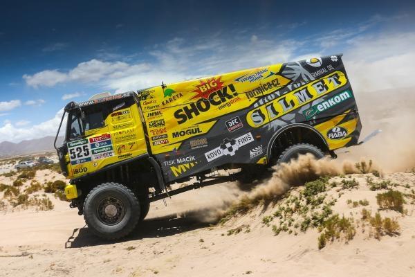 Motorismus: Dakar za oponou