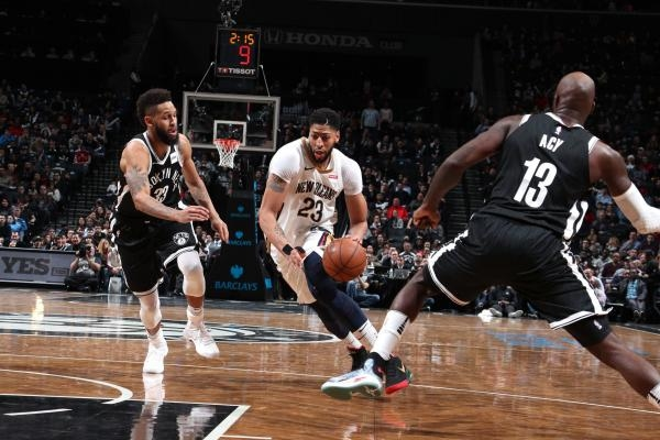 New Orleans Pelicans - Brooklyn Nets
