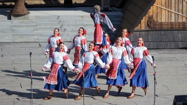 Folklórny festival - Heľpa - zostrih