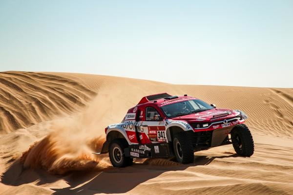 Motorismus: Dakarská tečka