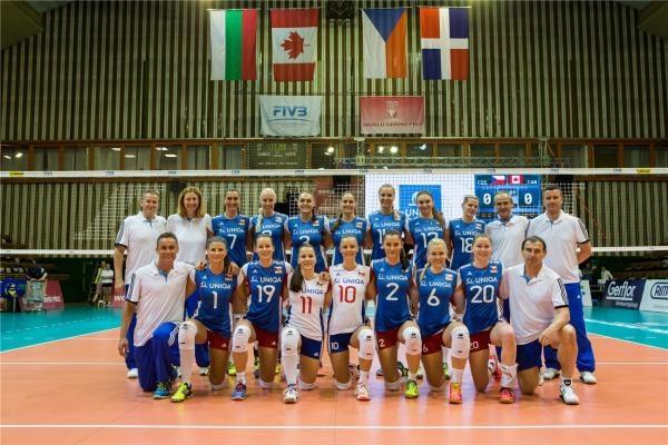 Volejbal: Česko - Polsko