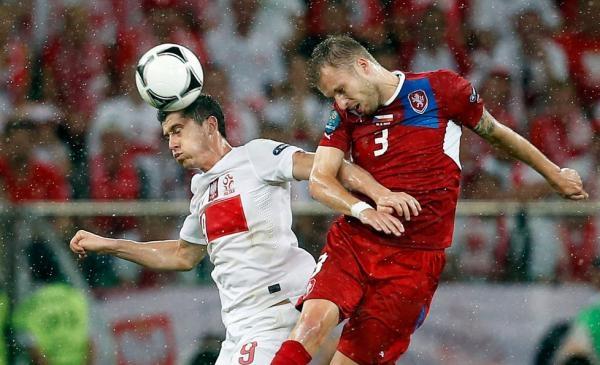 Fotbal: Polsko - Česko