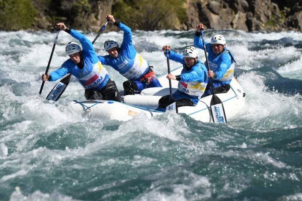Rafting: MS 2019 Austrálie
