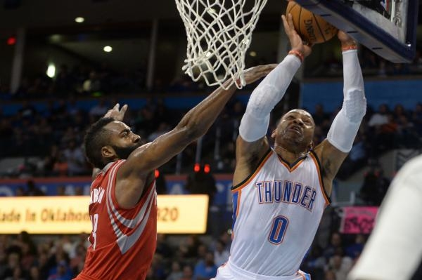 Oklahoma City Thunder - Houston Rockets