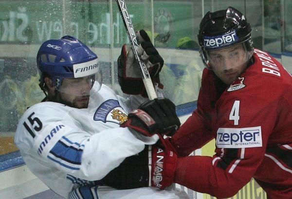 Hokej: Finsko - Kanada