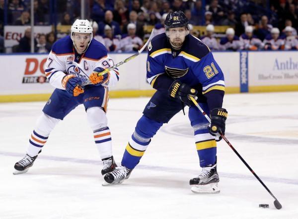St. Louis Blues - Edmonton Oilers