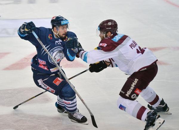 Hokej: HC Sparta Praha - Bílí Tygři Liberec
