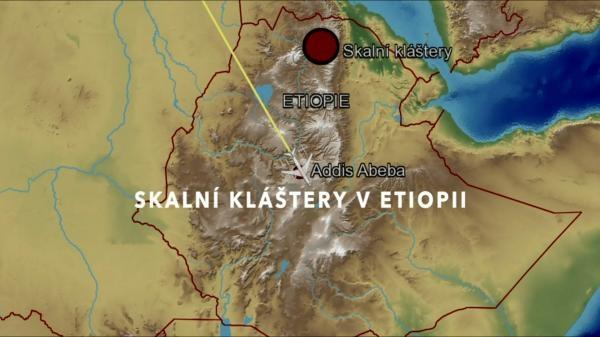 Skalní kláštery v Etiopii