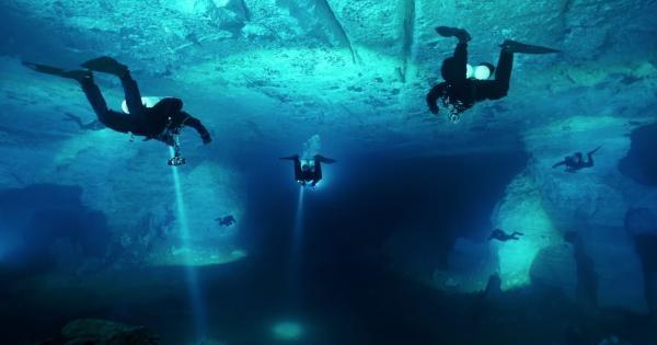 Podvodní svět jeskyně Orda