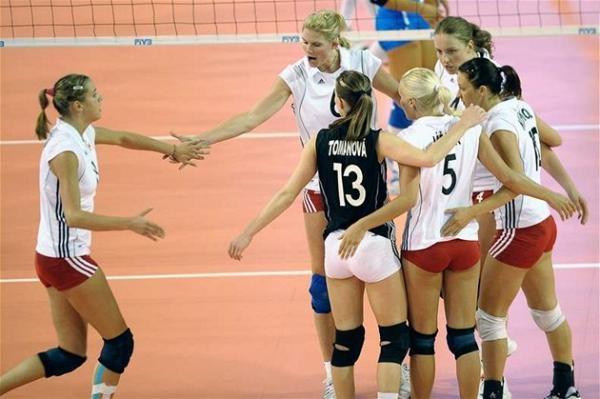 Volejbal: Česko - Bělorusko