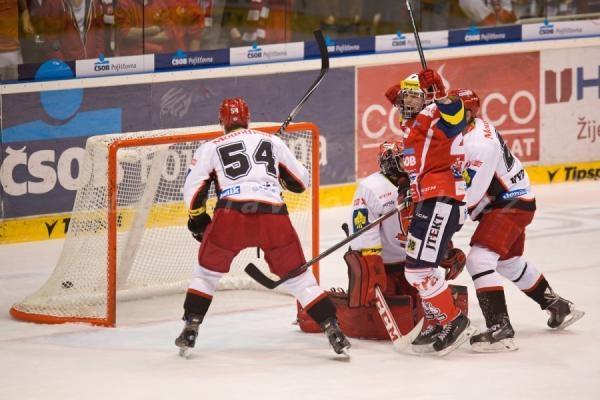 Hokej: HC Dynamo Pardubice - Mountfield HK