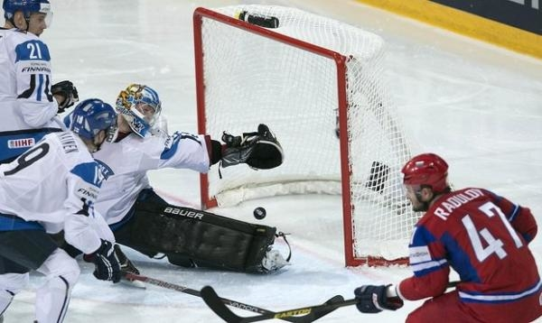 Hokej: Rusko - Finsko