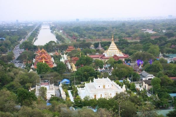 Barma – Rangún, Mandalaj a královská města