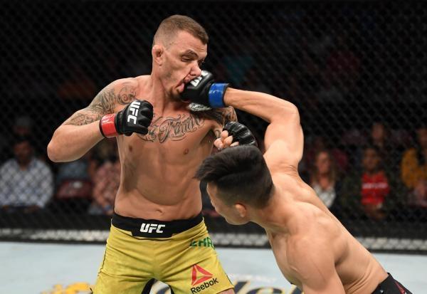 UFC Fight Night: Ortega vs. The Korean Zombie