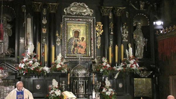 Transmisja mszy świętej z Sanktuarium Matki Bożej na Jasnej Górze