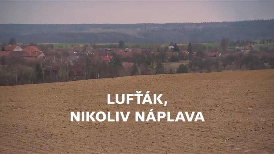Dokument Lufťák, nikoliv náplava