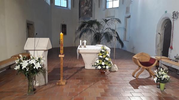 Mše svatá z kaple Telepace v Ostravě