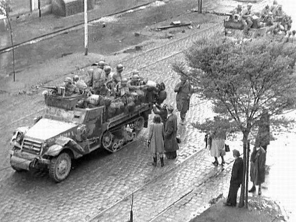 Dokument US-Army v ČSR 1945