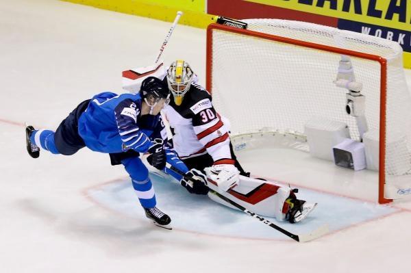 Hokej: Kanada - Finsko