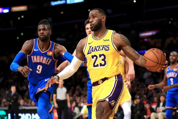 Los Angeles Lakers - Oklahoma City Thunder