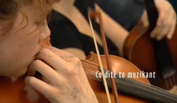 Co dítě to muzikant