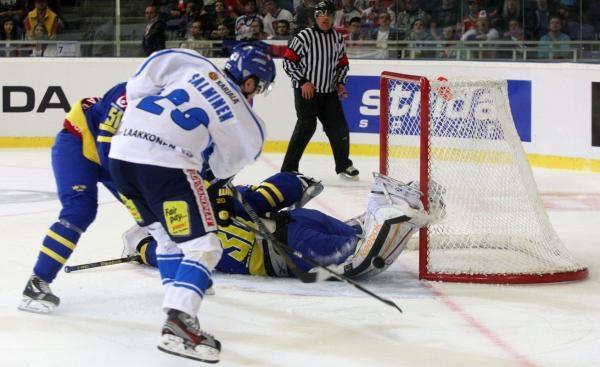 Hokej: Švédsko - Finsko