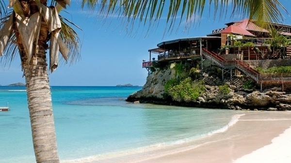Svatý Bartoloměj, rajský ostrov