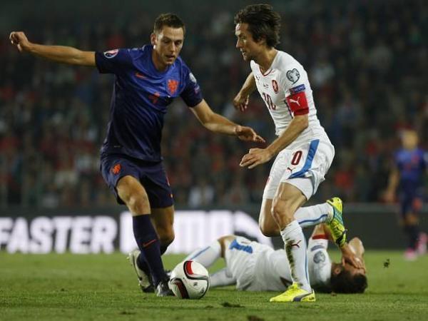 Fotbal: Nizozemsko - Česko