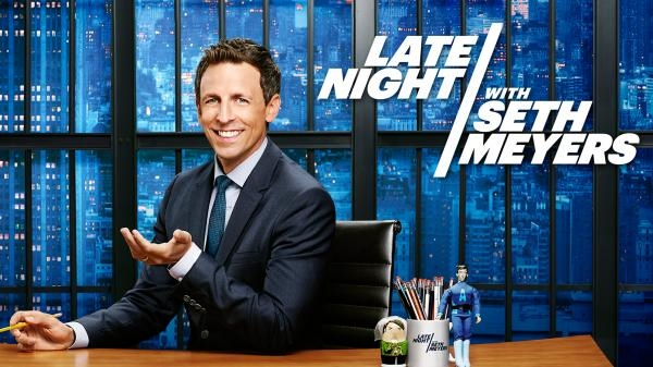 Late Night with Seth Meyers 19.8.2018