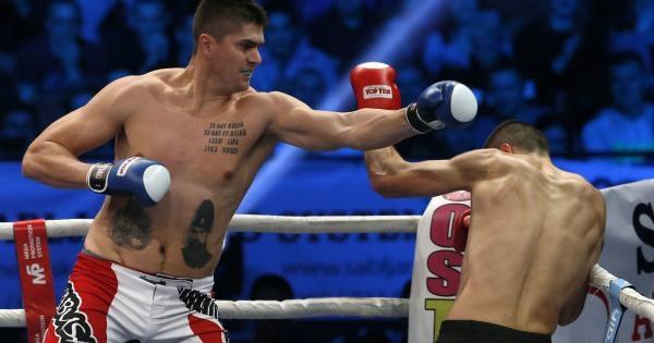 Goldenfighter kickbox mistrovství, Řecko vs. Čína, Athény, Řecko, 24.03.2019