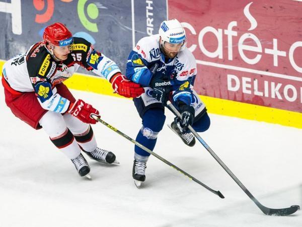 Hokej: Mountfield HK - HC Škoda Plzeň