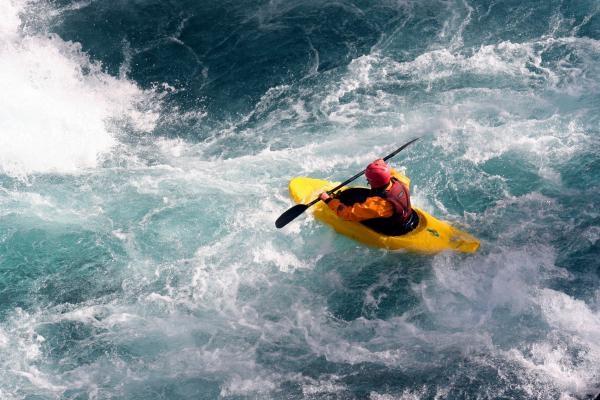 Vodní slalom: Den s divokou vodou 2021