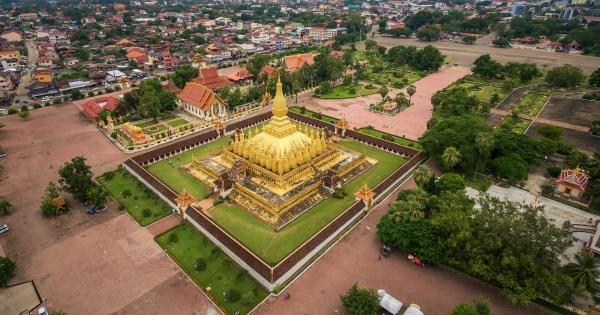 Dokument Laos z výšky