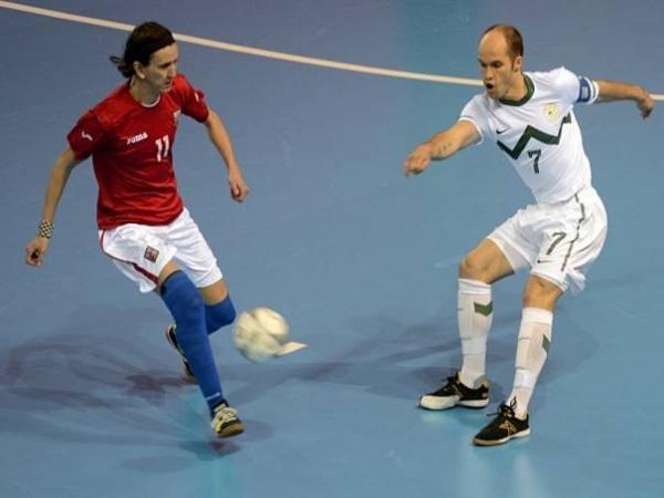 Futsal: Česko - Slovinsko