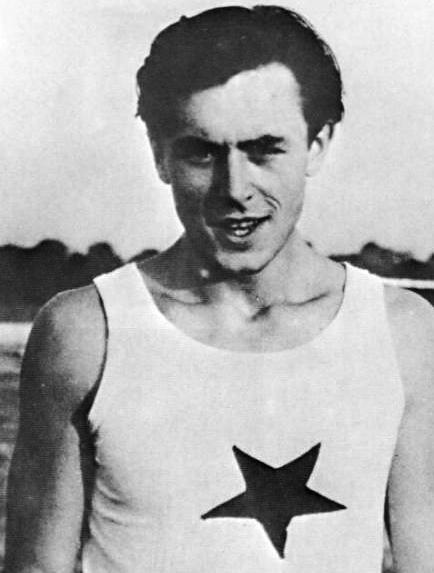 Atlet Evžen Rošický