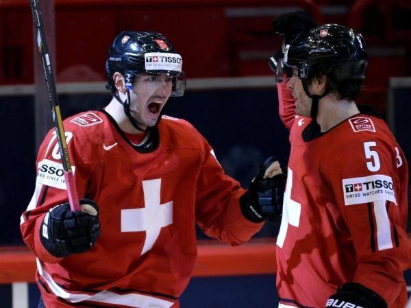 Hokej: Švýcarsko - Rusko