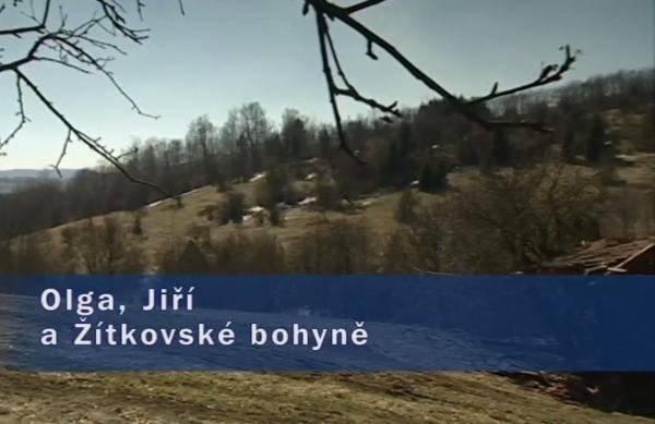 Dokument Olga, Jiří a Žítkovské bohyně