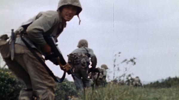 Dokument Bitva o Okinawu v barvě