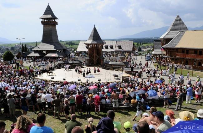 Folklórny festival Východná