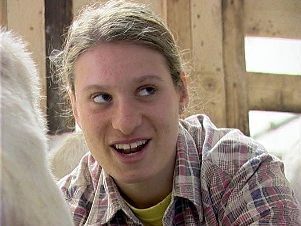 Farmářka Hana Maturová