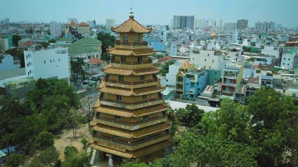 Dokument Vietnam z výšky