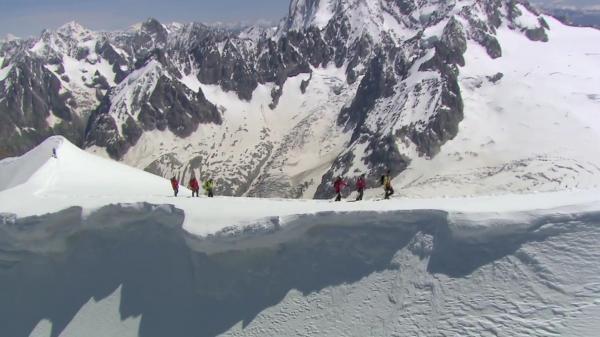 Documentary Objectif Mont-blanc, Sur Les Traces D'un Géant