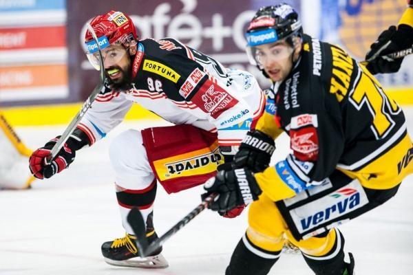Hokej: HC VERVA Litvínov - Mountfield HK