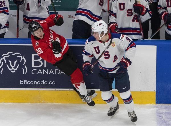 Hokej: USA - Kanada