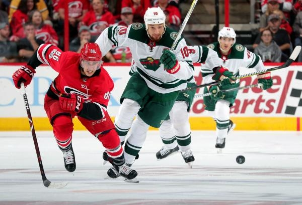 Minnesota Wild - Carolina Hurricanes