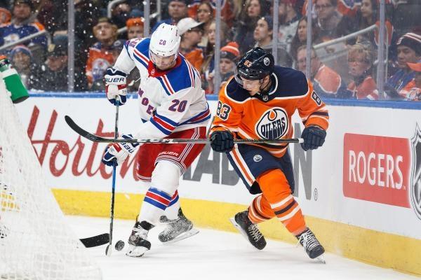 New York Rangers - Edmonton Oilers