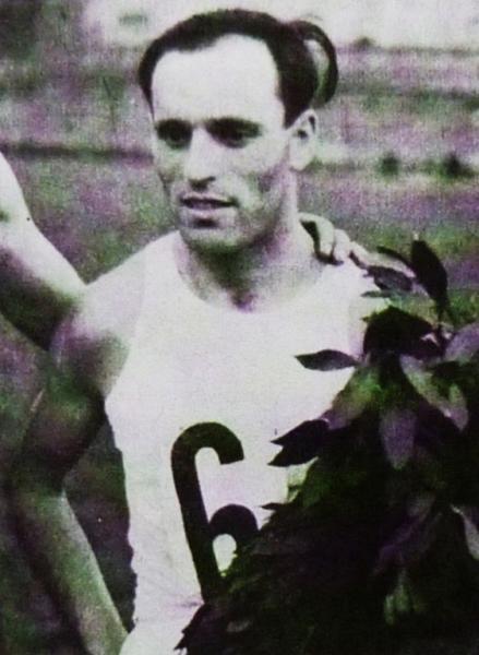 Atlet Oskar Hekš