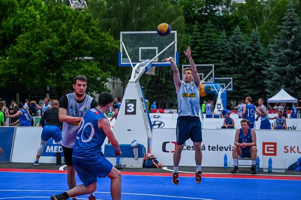 Basketbal: Chance 3x3 Tour 2021 Ostrava